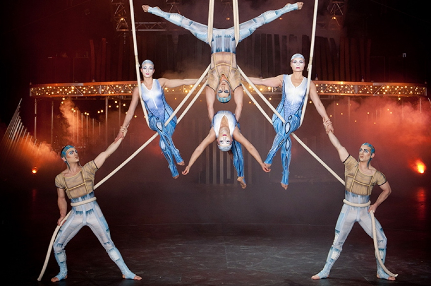 the history of cirque du soleil