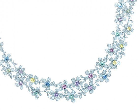 Tiffany Blue Book 2014 necklace